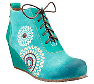Spring Step LArtiste Leather Booties -Westminster - A337833