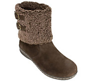 White Mountain Suede Leather Winter Boots - Frosted - A338833