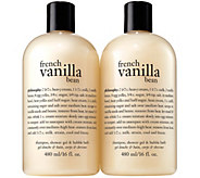 philosophy french vanilla bean set of two - A340933