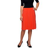 Liz Claiborne New York Essentials A-Line Knit Skirt - A240834