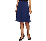 Styled by Joe Zee Ponte Knit Fit and Flare Skirt - A254434
