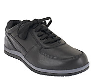 Vionic Mens Orthotic Leather Casual Sneakers - Branxton - A261034
