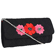 Vera Bradley Microfiber Celebration Clutch - A261434