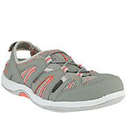 As Is Ryka Hula Leather & Mesh Fisherman Sneakers - A262534