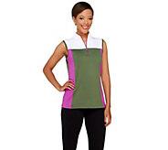 Denim & Co. Active/Golf Color-Block Sleeveless Top - A265634