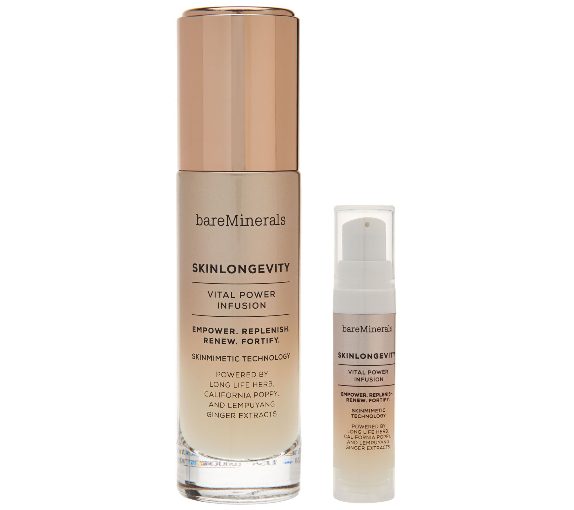 bareMinerals SkinLongevity Vital Power Infusion w/ Deluxe Sample - A273634