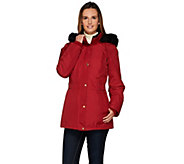 As Is Susan Graver Convertible 4 in 1 Jacket w/ Velvet Vest - A279334