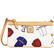 Dooney & Bourke MLB Rangers Large Slim Wristlet - A280134