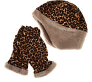 Reversible Hat and Multi-Mitt Gloves Gift Set by Sprigs - A282034
