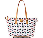 Dooney & Bourke NCAA University of Florida Zip Top Shopper - A283234