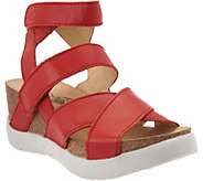 FLY London Leather Strappy Sandals - Wege - A286434