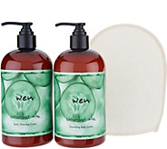 WEN by Chaz Dean Body Cleanse & Nourish 3 Piece Kit - A296234