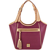 As Is Dooney & Bourke Saffiano Leather Shoulder Bag - A299134
