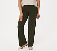 Women with Control Petite Tummy Control Wide Leg Pants - A301334