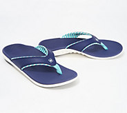 Spenco Orthotic Thong Sandals -Yumi Candy Stripe - A304834