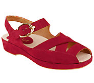 Earthies Leather Sandals - Malina - A332434