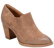 Sofft Leather Block Heel Ankle Boot - Weston - A355534