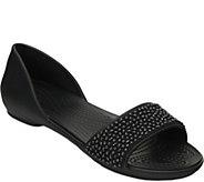 Crocs Embellish DOrsay Flats - Lina Embellished - A358534