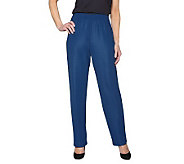 Susan Graver Essentials Lustra Knit Petite Pull-on Pants - A71634