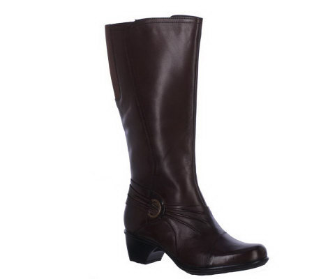 Clarks Bendables Ingalls Excite Leather Tall Shaft Boots