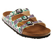 Papillio by Birkenstock Florida Rose Print Sandals - A223935
