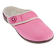 Vionic Orthotic Adj. Strap Slippers - Laura - A237935