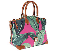 Dooney & Bourke Banana Leaf Coated Cotton Satchel - A254335