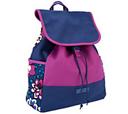 As Is Vera Bradley Canvas Colorblock Backpack - A262735