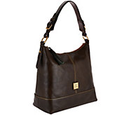 As Is Dooney & Bourke Toledo Leather Sophie Hobo - A276535