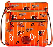 Dooney & Bourke MLB Nylon Orioles Triple Zip Crossbody - A281535