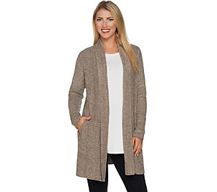 Barefoot Dreams Cozychic Lite Montecito Cardi with Pockets
