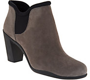 Clarks Artisan Suede Slip-on Boots with Gore - Adya Bella - A296335