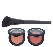 bareMinerals Gen Nude Powder Blush Duo with Brush - A303635