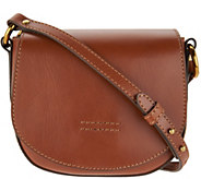 Frye Leather Harness Small Saddle Crossbody Handbag - A304235