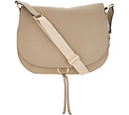 Vince Camuto Leather Shoulder Bag - Barna - A304535
