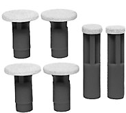 PMD 6-Pack Replacement Disc Set - Black Coarse - A336135