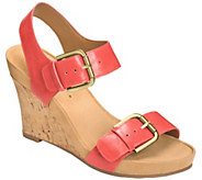 Aerosoles Wedge Sandals - Mega Plush - A339535