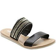 Kensie Slip-on Flat Sandals - Diva - A340335