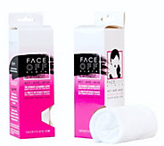 FaceOff Reusable Facial Cleansing Cloth, Set of2 - A363235