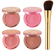 tarte 4pc. Deluxe Amazonian Clay Blush Set with Brush - A270436