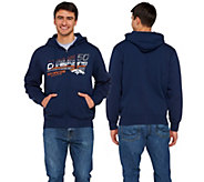NFL Super Bowl 50 Champions Denver Broncos Zip Up Mens Hoodie - A279836