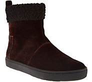 LOGO by Lori Goldstein Ankle Boots with Faux Fur Trim - A284136