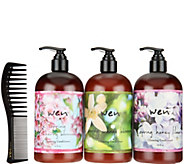 WEN by Chaz Dean Spring Cleansing Cond. Trio w/ Comb - A290436