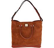 Dooney & Bourke Suede Chelsea Tote Handbag - A293536