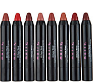 Mally H3 Color Wand 8-piece Lip Library - A298536