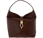 As Is Dooney & Bourke Florentine Logo Lock Shoulder Bag - A299136
