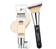 IT Cosmetics Bye Bye Foundation Moisturizer with Brush - A302036