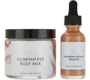 Volition Illuminating Body Milk & Radiant Liquid Bronzer - A303236