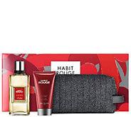 Guerlain Habit Rouge Mens Cologne & ShowerGel Set - A357536