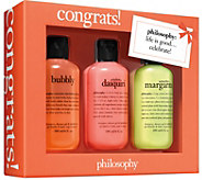 philosophy congrats gift box - A359436